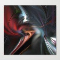 fractal Canvas Prints featuring Fractal  by Leatherwood Design