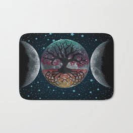 Autumn Esoteric Triple Moon V2 Bath Mat