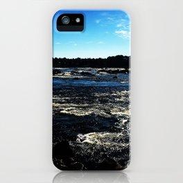 Kukkola river 3 iPhone Case
