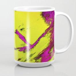 Frctured anger yellow Coffee Mug