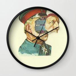 la Pantera Fuerte Wall Clock