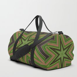 Green Star Duffle Bag