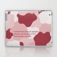to feel the love Laptop & iPad Skin