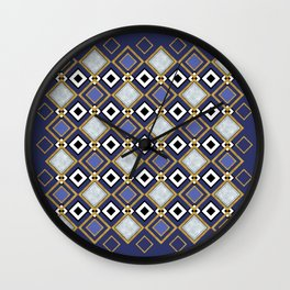 Purple Jade Wall Clock