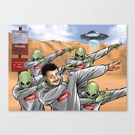 Neil Degrasse Tyson and Friends Canvas Print