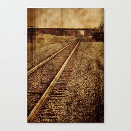 The Old Rails Canvas Print