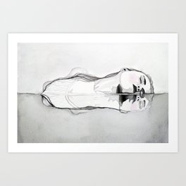 A Brief Lesson in the Art of Drowning Art Print