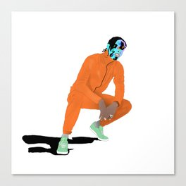 Asap Rocky Ft Bape Canvas Print