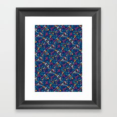 Kaleidoscope Number 3 Framed Art Print