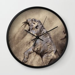 Heart of the Tiger Wall Clock