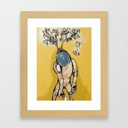 the bliss before the blues.. Framed Art Print