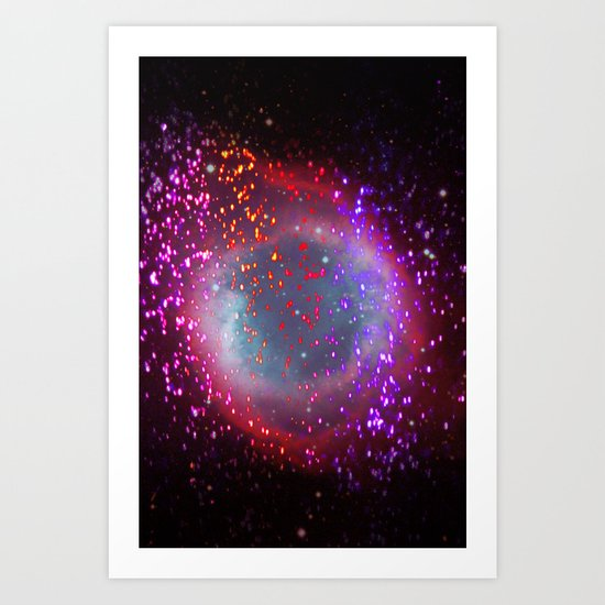 sparks of attraction Art Print