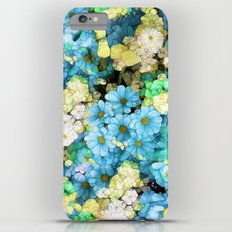 Blue Blossoms iPhone 6 Plus Slim Case