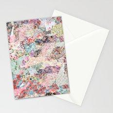 Birmingham map Stationery Cards