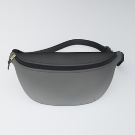 Black to White Fanny Pack