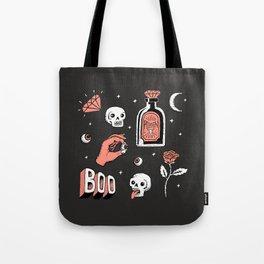 Skeleton Spooky Boye Tote Bag