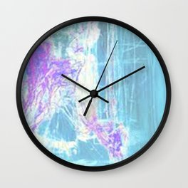 Once In A Morning  Wall Clock