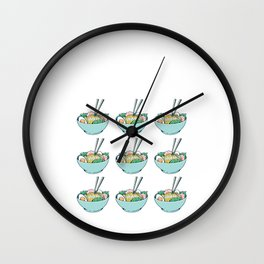 Funny Yes I Need All These Ramen Gift Wall Clock