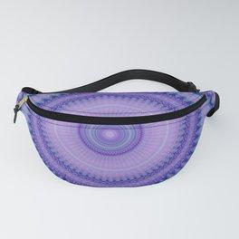 Pantone Purple Aqua Mandala Fanny Pack