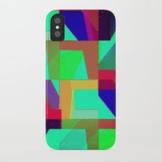 Colorful Truth. Green. Slim Case iPhone X