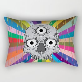 3 Eyed Jackass Rectangular Pillow