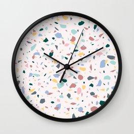 Colorful Terrazzo Wall Clock