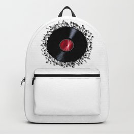 Musical Notes Record Backpack