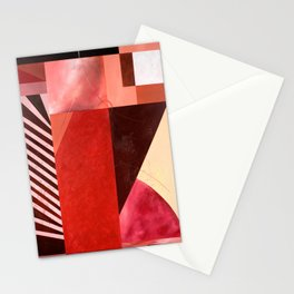 "'Red Fusion"" Stationery Cards"