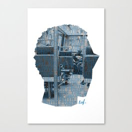 Poster Face #1 Canvas Print