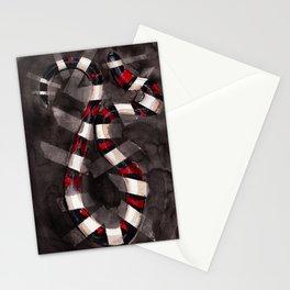 Striped Snake Stationery Cards