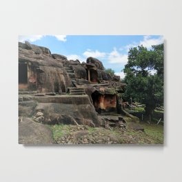 Udayagiri and Khandagiri Caves, Odisha, India Metal Print
