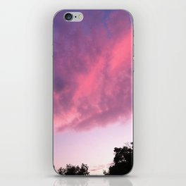 Color Bomb Sunset iPhone Skin