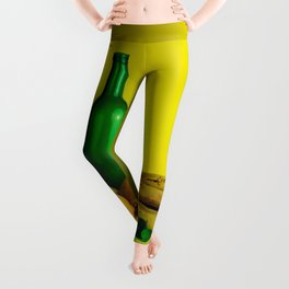Lemon lime - still life Leggings