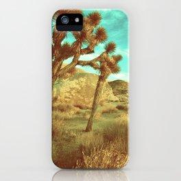 Desert Cactus iPhone Case