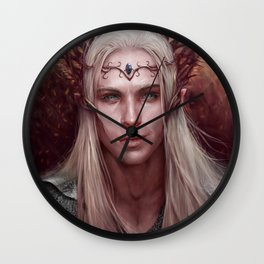 Thranduil Portrait Wall Clock