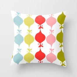 Christmas decor abstract Throw Pillow