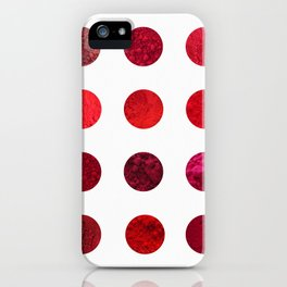 Red Pigments - Which red are you? iPhone Case