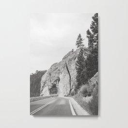 Mountain Drive Metal Print