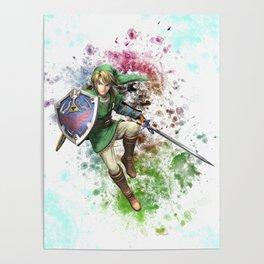 Legend of Zelda Link Poster