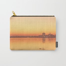 Orange Davenport Carry-All Pouch
