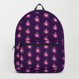 Purple Christmas Globes Backpack