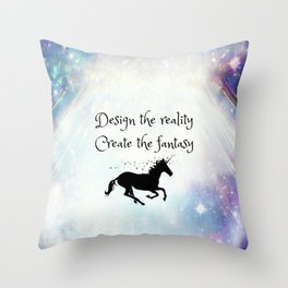 Fantasy Creation Throw Pillow