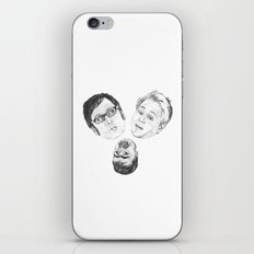 Where's my chippy? iPhone & iPod Skin
