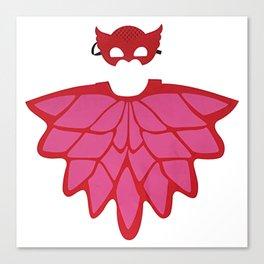 Pj masks owlette logo Canvas Print