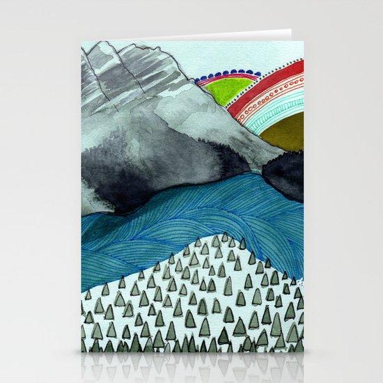 Landscapes / Nr. 4 Stationery Cards