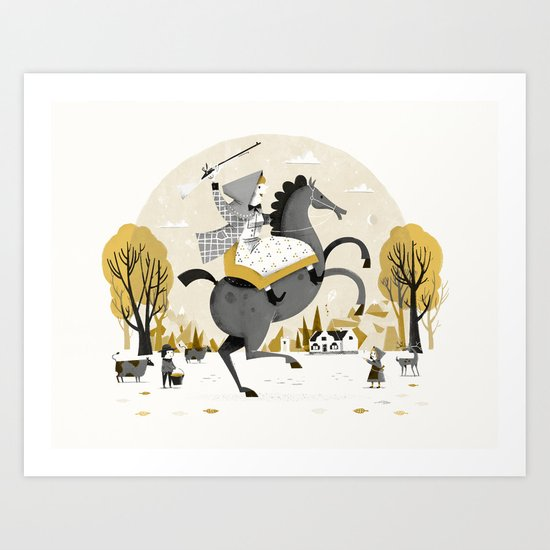 Catharina Art Print