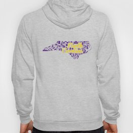 ECU North Carolina State - Purple and Gold Eastern Carolina University Design Hoody