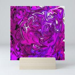 The Many Mysteries of Purple Mini Art Print
