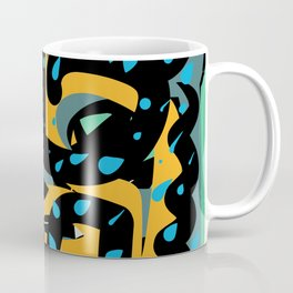 Energy Flow Abstract Art Life Coffee Mug