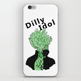 Dilly Idol iPhone Skin